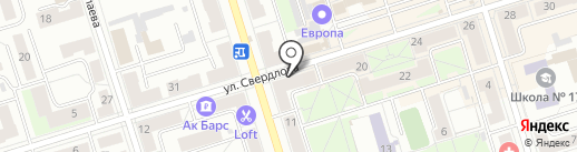 Невеста на карте Октябрьского