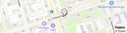 Купидон на карте Октябрьского