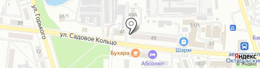 Вента на карте Октябрьского