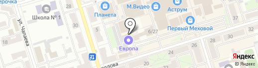Подсолнух на карте Октябрьского