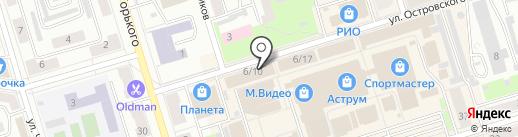 Фамилия на карте Октябрьского