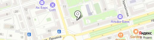 Коммунистическая партия РФ на карте Октябрьского