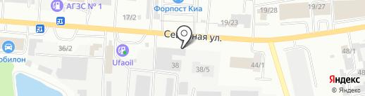 Хозтовары+ на карте Октябрьского