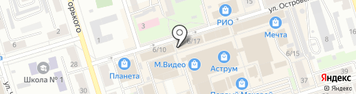 Чайная у Бабая на карте Октябрьского