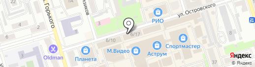 Дом памяти на карте Октябрьского