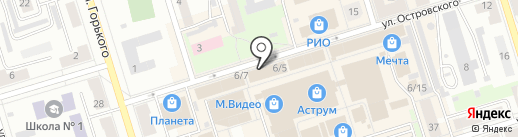 Салон дверей на карте Октябрьского