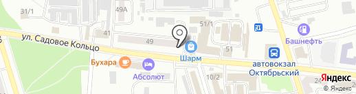 БАНКиръ на карте Октябрьского