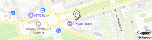 DEVONHOTEL на карте Октябрьского