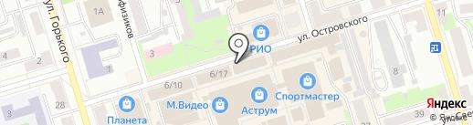 Интерьер на карте Октябрьского