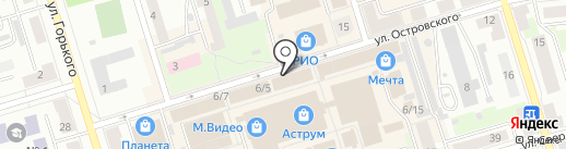 Магазин нижнего белья на карте Октябрьского