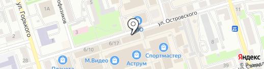 Минольта на карте Октябрьского