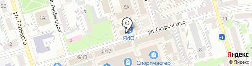 Рио на карте Октябрьского