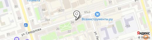 Золотой на карте Октябрьского