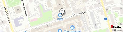 Мастерская на карте Октябрьского