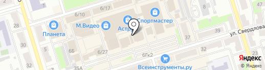 DNS на карте Октябрьского