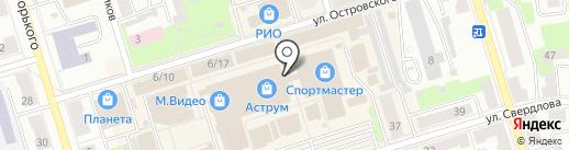 Leebin на карте Октябрьского