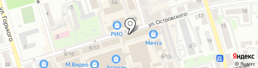Индустрия красоты на карте Октябрьского