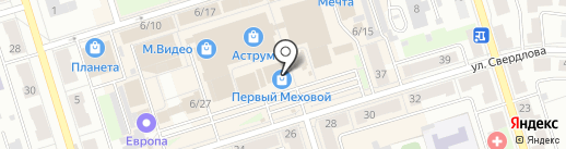 Панакс на карте Октябрьского