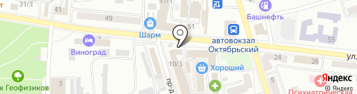 Соня на карте Октябрьского