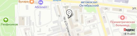 Свет на карте Октябрьского