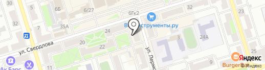 Элит на карте Октябрьского