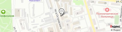 Мир ковров на карте Октябрьского