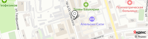 Ариадна на карте Октябрьского