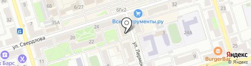 Хозяюшка на карте Октябрьского