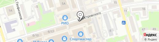Скб+ на карте Октябрьского