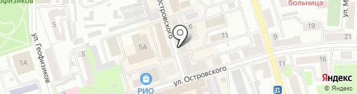 Диана на карте Октябрьского