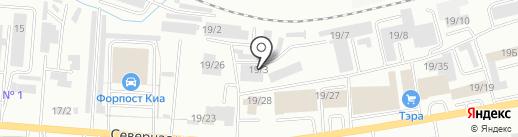 МодульМ на карте Октябрьского