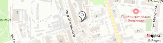 Управление Федеральной службы судебных приставов по Республике Башкортостан на карте Октябрьского