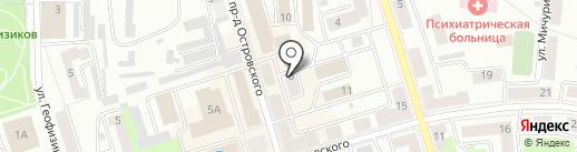 Богема на карте Октябрьского