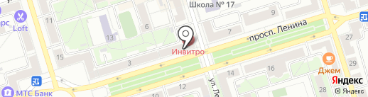 Билайн на карте Октябрьского