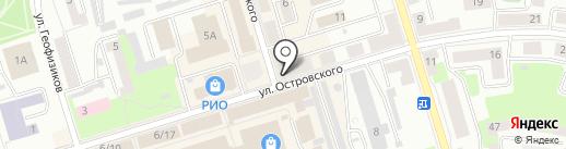 Ювелирцентр на карте Октябрьского