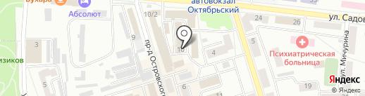 Сварной на карте Октябрьского