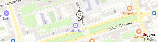 Успех на карте Октябрьского
