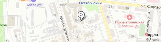 Мишутка на карте Октябрьского