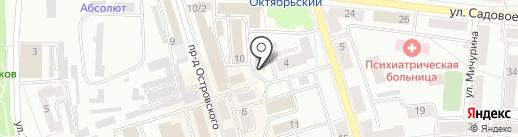 СУДАРУШКА на карте Октябрьского