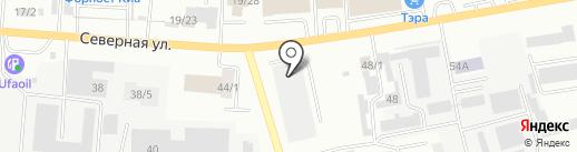 АквамонолиТ на карте Октябрьского