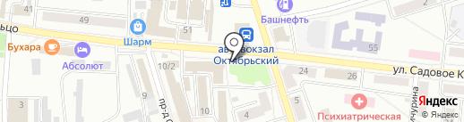 Фармленд на карте Октябрьского