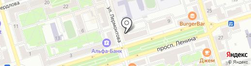Профи на карте Октябрьского