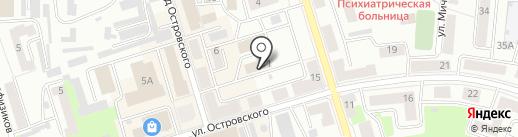 Управление Пенсионного фонда РФ на карте Октябрьского