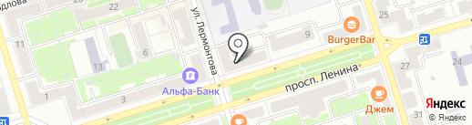 Экватор на карте Октябрьского