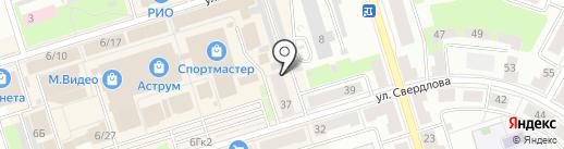 Магазин мебельной фурнитуры на карте Октябрьского