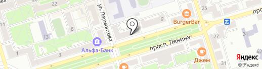 Банкомат, Банк ВТБ 24, ПАО на карте Октябрьского
