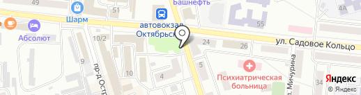 Изумруд на карте Октябрьского