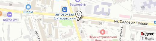 ДОСААФ на карте Октябрьского