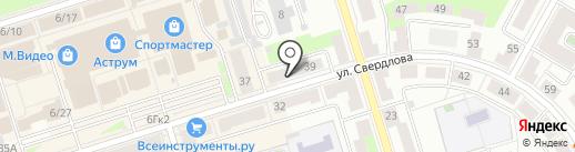 Хамелеон на карте Октябрьского