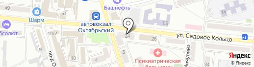 А4 на карте Октябрьского
